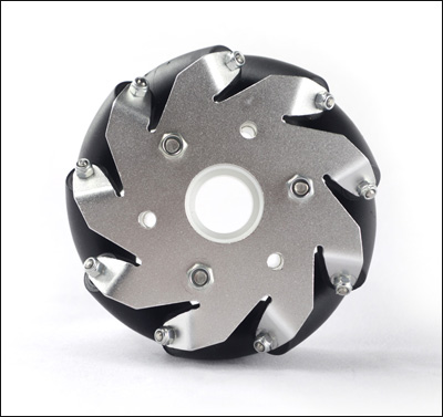 (4 inch)100mm Aluminum Mecanum Wheel  Basic Right 14161