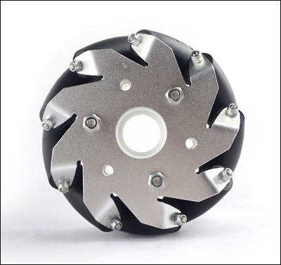 (4 inch)100mm Aluminum Mecanum Wheel Basic Left 14160