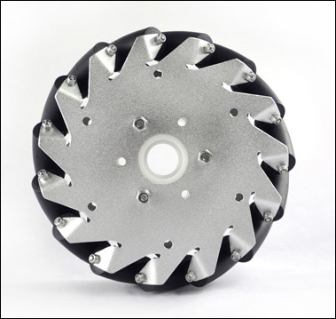 (6 inch)152mm Aluminum Mecanum wheel basic right 14164