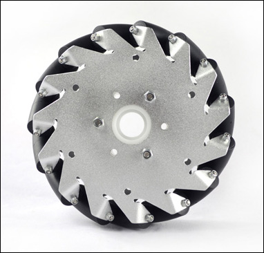 (6 inch)152mm Aluminum Mecanum wheel basic left 14163