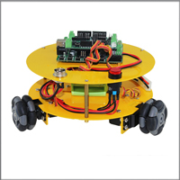 3WD 48mm Omni Wheel Arduino compatible Robotics car 10014